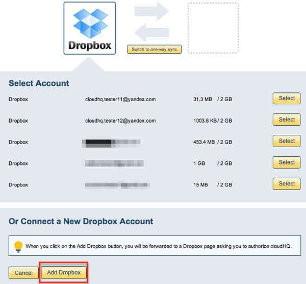 how to run dropbox on two accounts 6