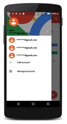 manage multiple accounts on gmail