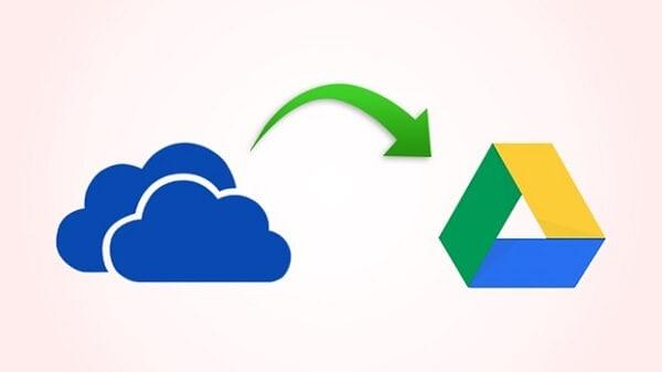 Transferir de onedrive a google drive