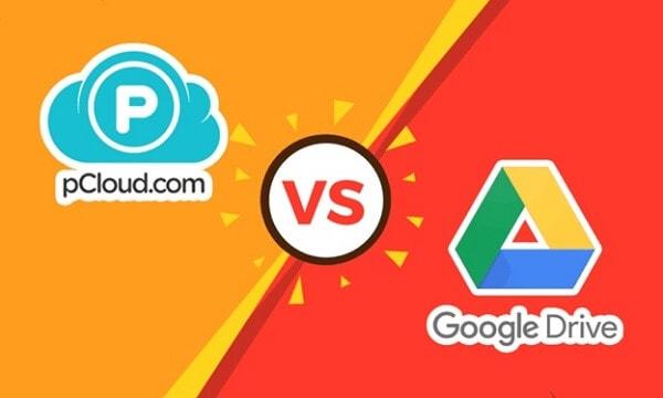 pCloud vs google drive