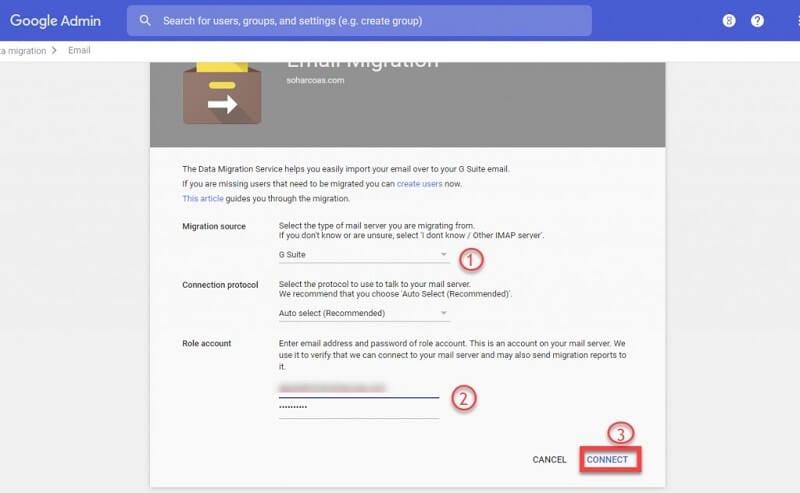 g suite e-mail migrieren