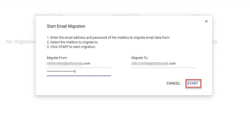 g suite move emails to another user