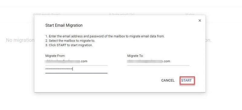 g suite E-Mails an einen anderen Benutzer verschieben