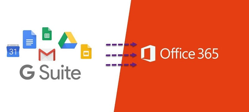 migrate from Google to Office-365