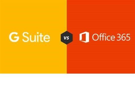 Gsuite vs office365