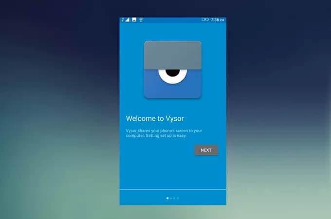 vysor-interface
