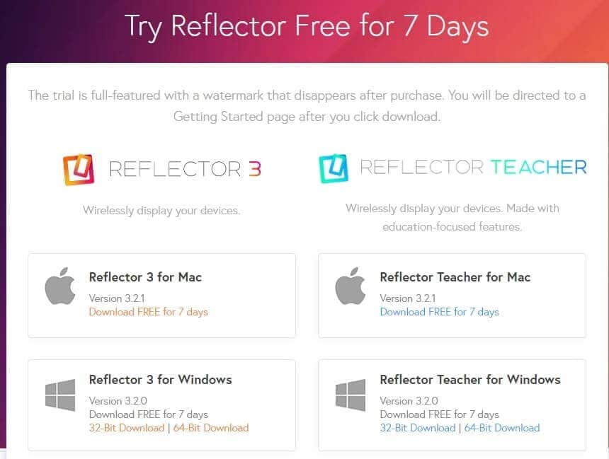 download-reflector