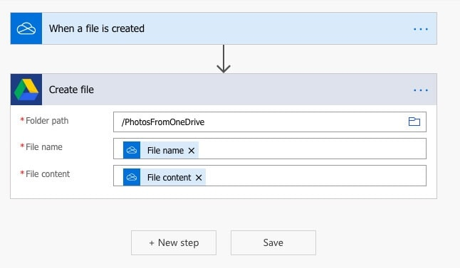 Select folder path, File Name and Content