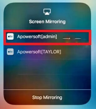 screen mirroring iphone 7 or 7 plus 7