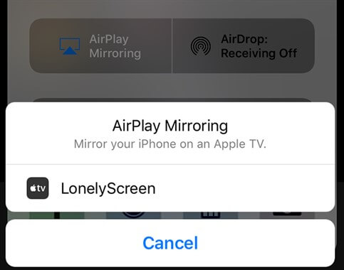 select-lonely-screen-option