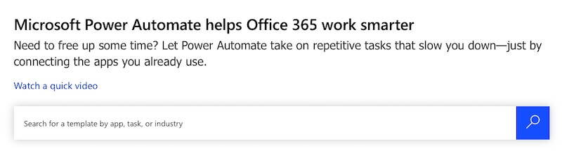 Power Automate in Microsoft 365