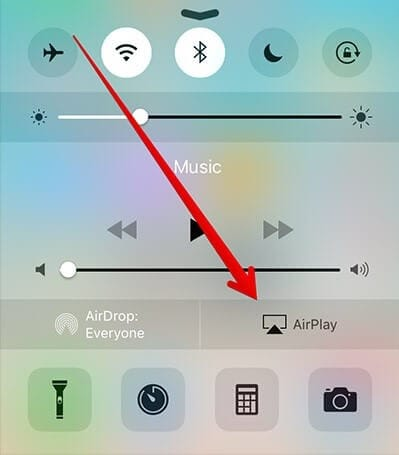 turn on airplay