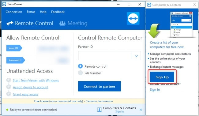 set-up-your-teamviewer
