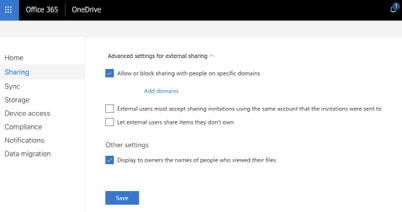 decide your data sharing domains
