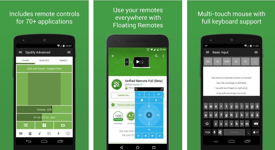 unified-remote-features