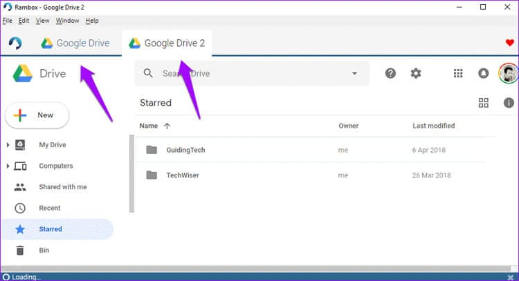 Multiple Google Drive on one computer