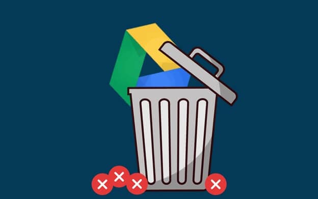 Delete google drive act permanently