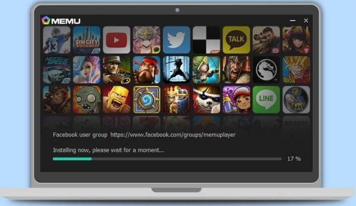 install the memu player on your pc