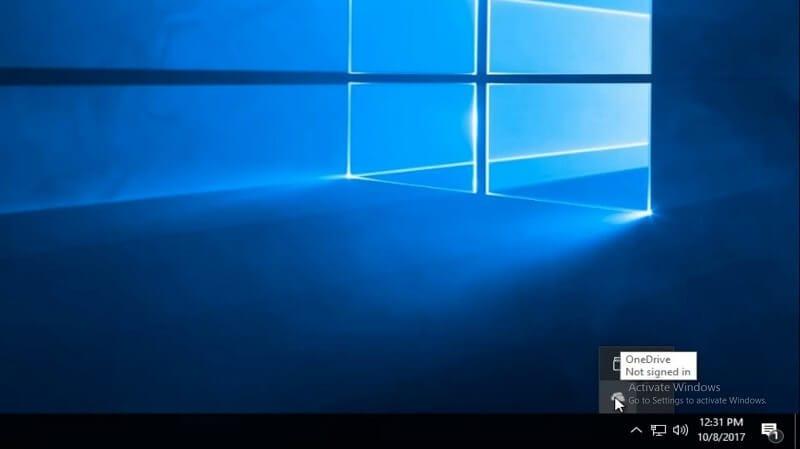 OneDrive Fenster öffnen