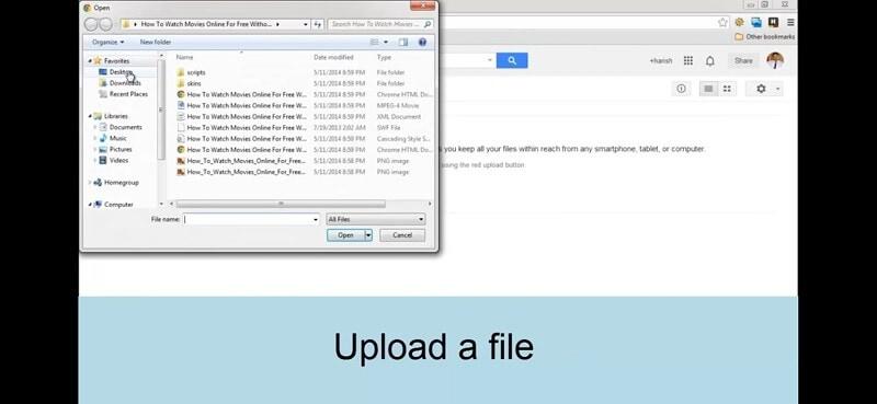 Verwendung von Google Drive zur Freigabe von Videos