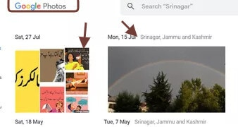open google photo on desktop