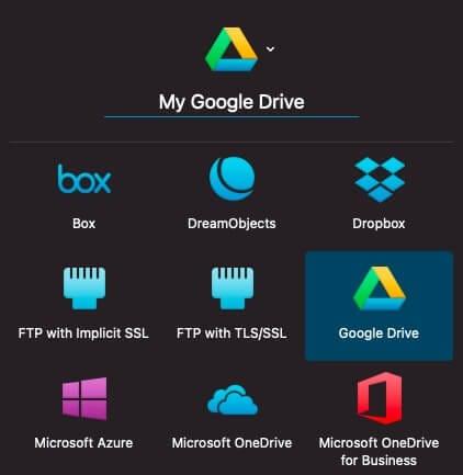 Upload files to Google Drive using URL