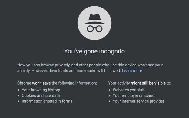 Multiple Dropbox accounts incognito mode