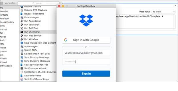 Múltiples cuentas de Dropbox nueva cuenta