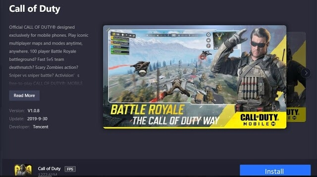 install call of duty on your pc