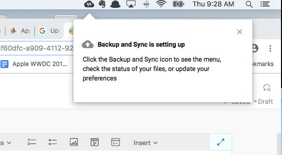 "click on ""start"""