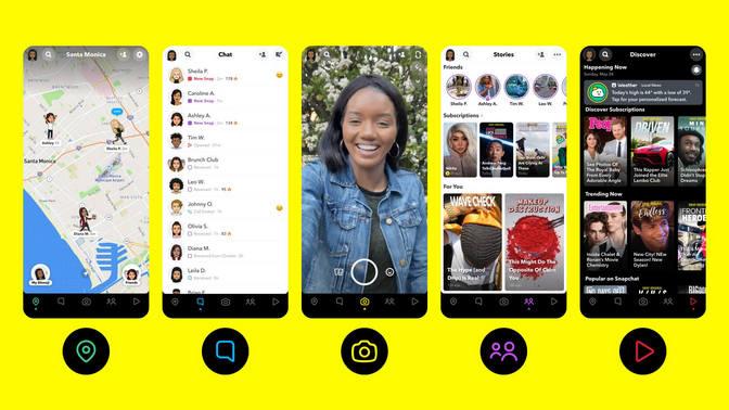 snapchat-interface