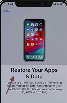 Figure 10 restore your app