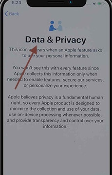 Figure 7 data and privacy settings appear