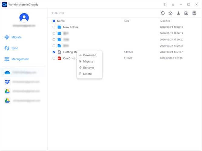 Accessing Google Drive in an FTP client software