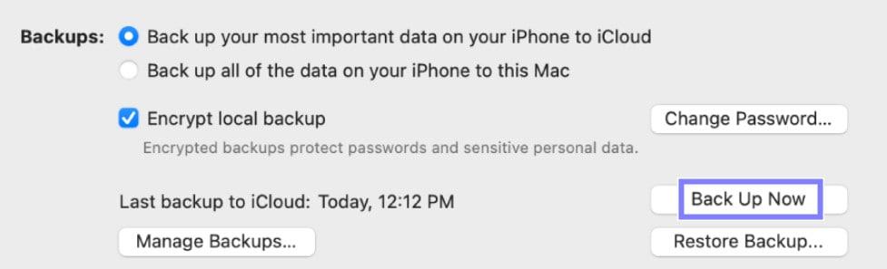 backup iphone to Mac-3