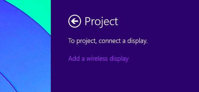 tap on the project