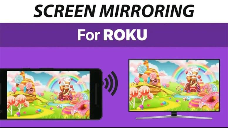 screen mirroring for roku app