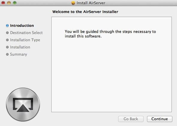 install airserver on mac