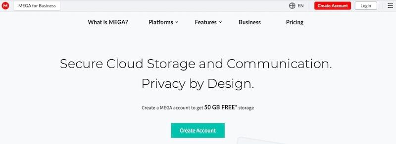 Mega web page