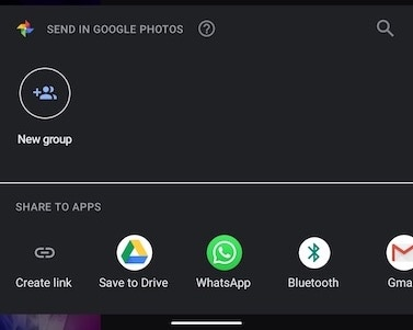 Save to Drive in Google Photos (Android)