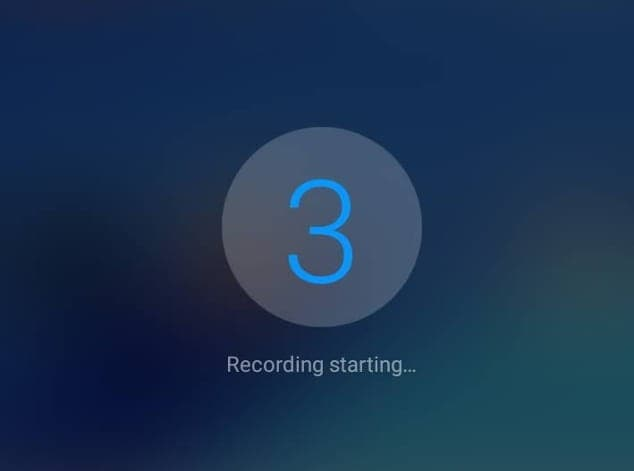 recorder countdown