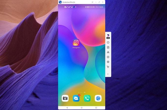 mirror xiaomi phone on pc using MirrorGo