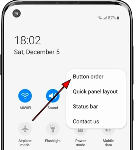 screen record on samsung a50 5