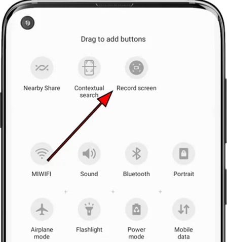 screen record on samsung a50 6