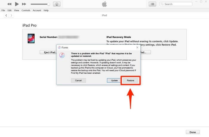 factory reset ipad without icloud password or apple id