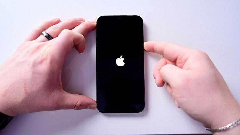 rebooting iphone