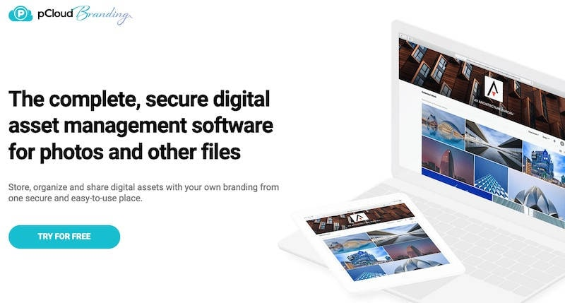 pCloud offers Dropbox Showcase-like tool to display files