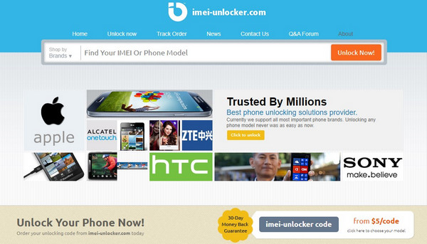 enter your imei or phone model