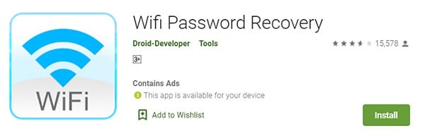 Wi-Fi-Password-Recovery