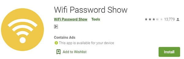 Wi-Fi-Password-Show